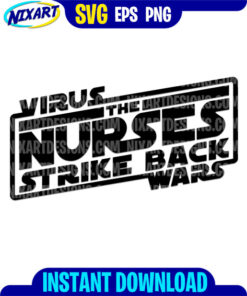 Virus wars svg and png files for cutting and print.