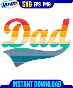 Dad svg and png files for cutting and print.
